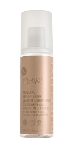 ureluxe™ Replenishing Leave-in conditioner voor droog en beschadigd haar. Deze zijdezachte elixir verzacht, egaliseert en zorgt voor een betere kambaarheid.